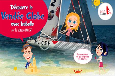 Edukit, l'outil pédagogique qui raconte aux enfants le Vendée Globe