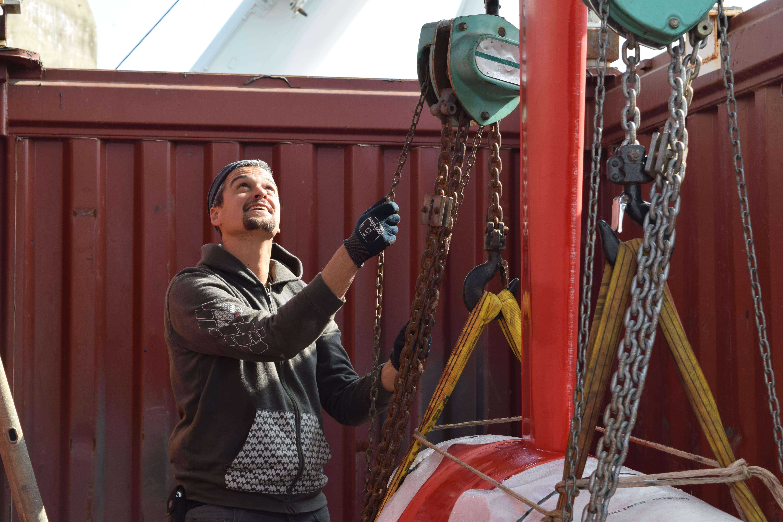 Semaine de l'emploi maritime : le team technique MACSF à l'honneur
