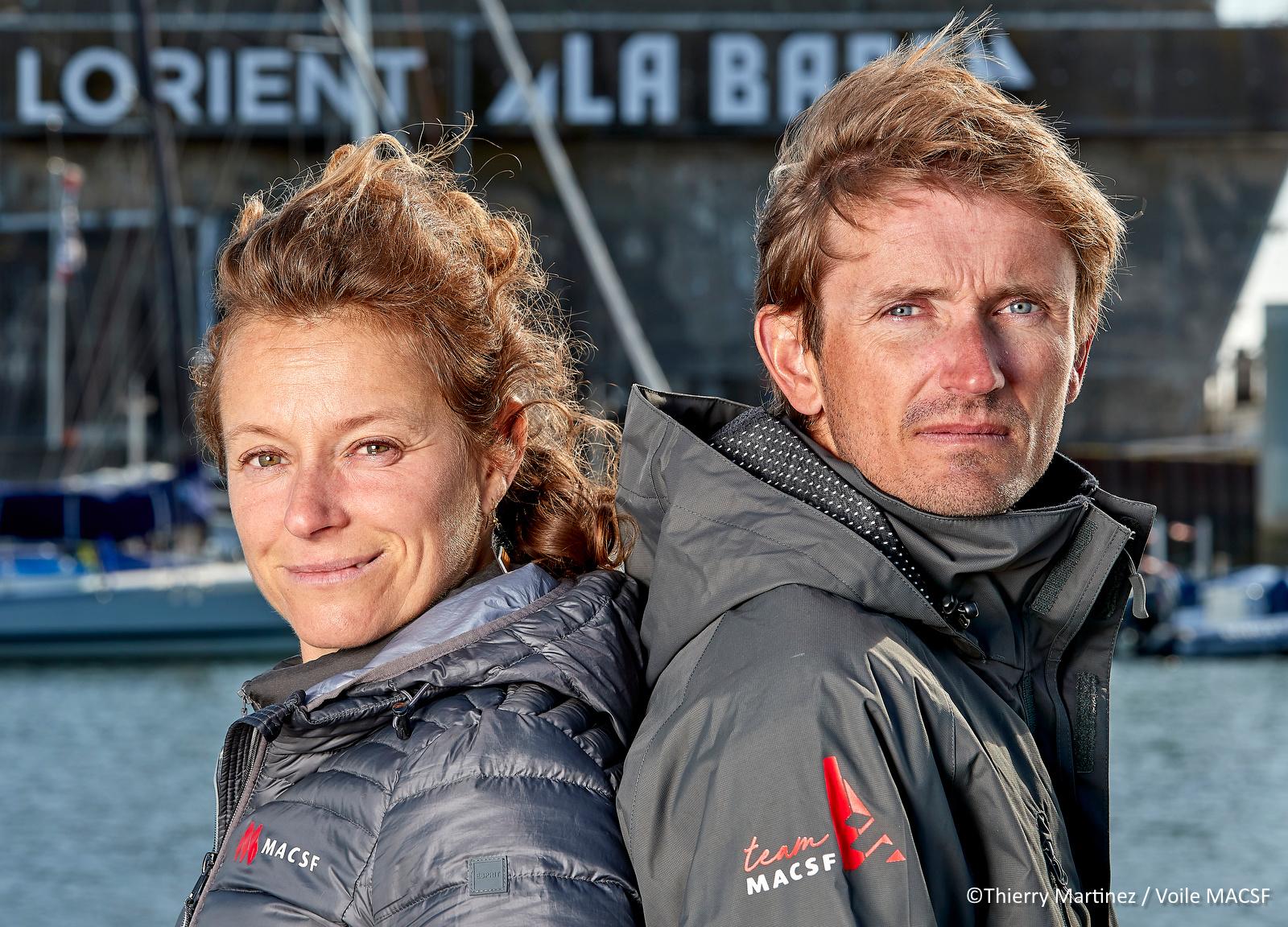 Transat Jacques-Vabre : Fabien Delahaye et Isabelle Joschke font équipe