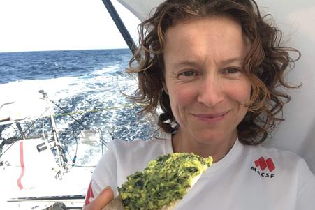 L'alimentation, un véritable levier de performance pour Isabelle Joschke